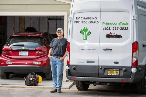 ev charger installation services