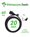 EV Charging Extension Cord 20 Feet