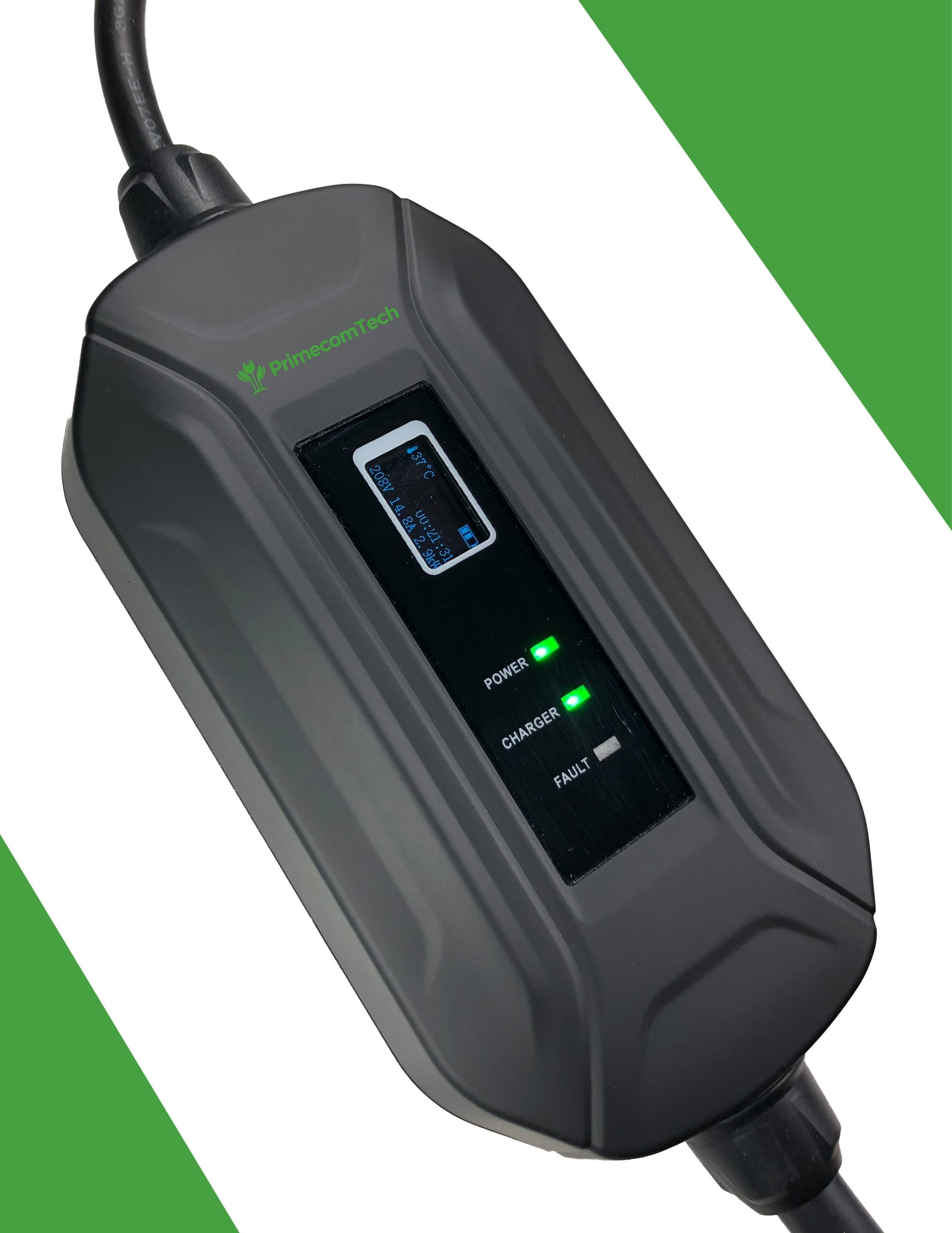 level 2 electric vehicle ev charger fast portable