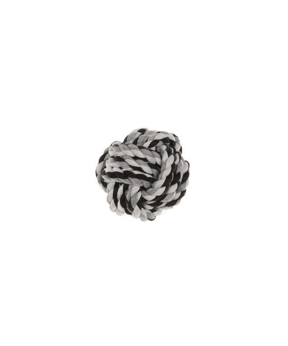 "fist knot ball dog toy 2"" diameter"