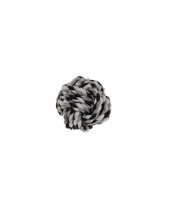 "fist knot ball dog toy 3"" diameter"