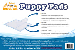 Head to Tail Puppy Training Pads 100ct