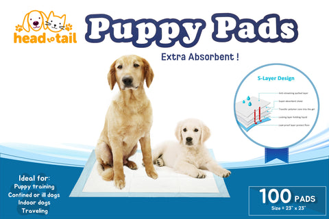 *NEW* Head to Tail Puppy Training Pads 100ct