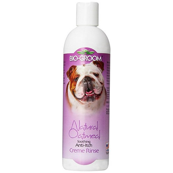 BioGroom Natural Oatmeal AntiItch Pet Crme Rinse, 12 Ounce