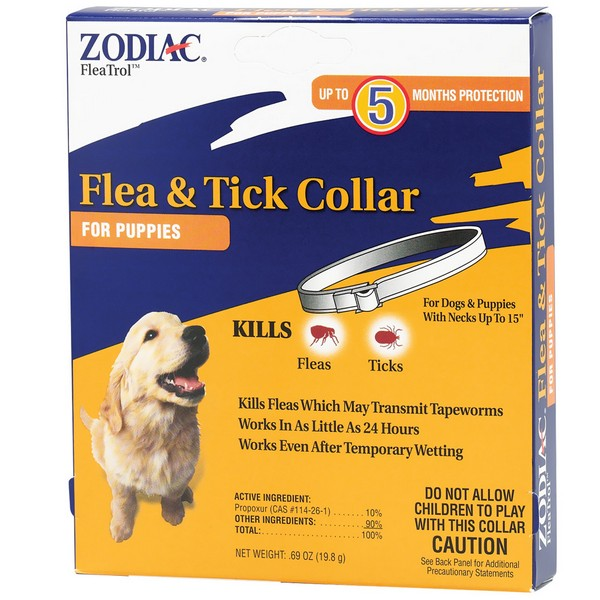 Zodiac Flea  Tick Collar For Puppies  5 Months
