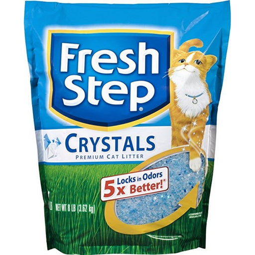 Scented Crystals, Premium, Clumping Cat Litter, 8 Lb