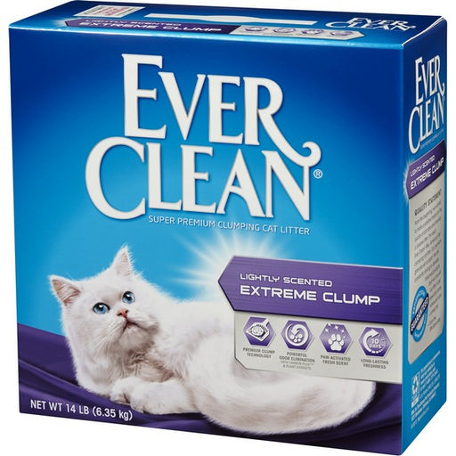 Lightly Scented Extreme Clump Cat Litter, 14 Lb