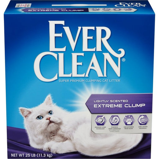 Lightly Scented Extreme Clump Cat Litter, 25 Lb