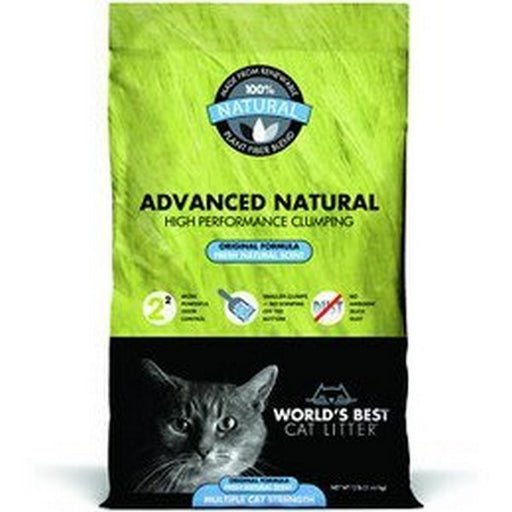 Worlds Best Cat Litter Advanced Natural Original, 6 Lb
