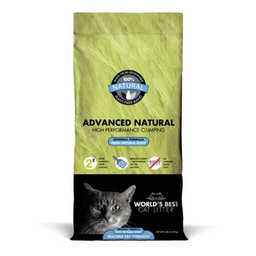 Worlds Best Cat Litter Advanced Natural Original, 24 Lb