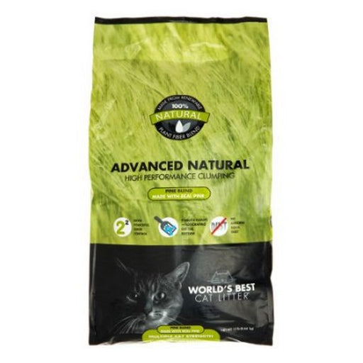 Worlds Best Cat Litter Advanced Natural Forest Scent 12 Lb