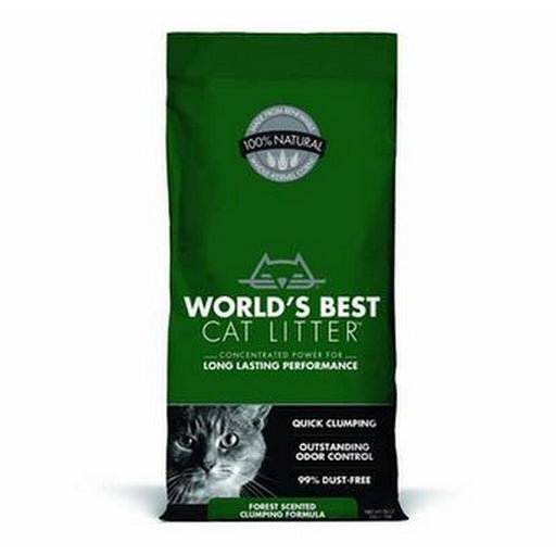 Worlds Best Cat Litter Advanced Natural Forest Scent 24 Lb