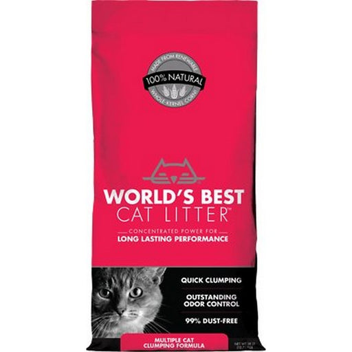 World'S Best Cat Litter Scoopable Multiple Cat Clumping Formula, 14 Lb