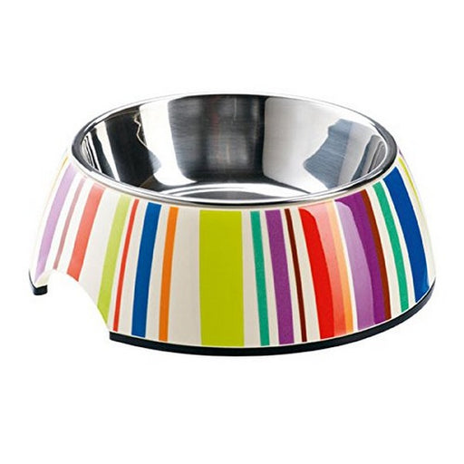 Striped Melamine Feeding Bowl 700 Ml