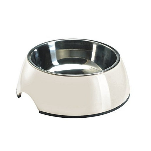 White Melamine Feeding Bowl 1400 Ml