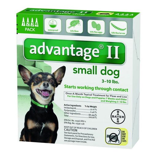 Bayer Advantage Ii Topical Flea Treatment Dogs Small Dogs