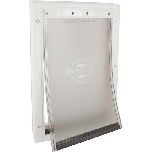 Plastic Pet Door With Soft Tinted Flap, Medium