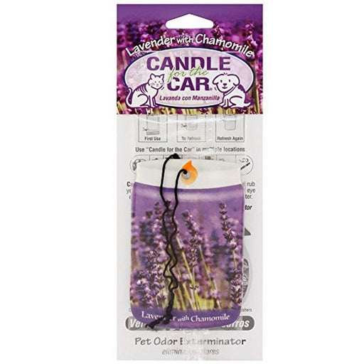 Candle For The Car Lavender With Chamomile