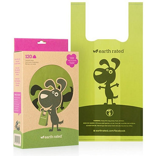 Scented Poopbags With EasyTie Handles, 120 Ct