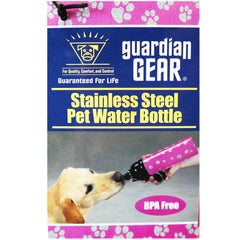 Guardian Gear Stainless Steel Pet Water Bottle