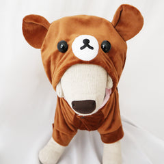 Rilakkuma & Korilakkuma Cute Bear Sweater Costume for Small Dogs & Cats