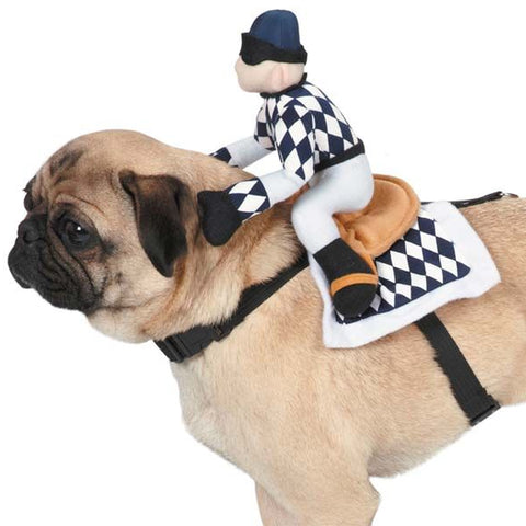 "Dog Race""Horse"" Jockey Harness Costume"