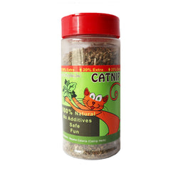 Best Pet Supplies Jar of 100% Natural Catnip for Cats and Kittens, the Best organic Catnip your Cats are guaranteed to have. No Additives Completely Safe and fun