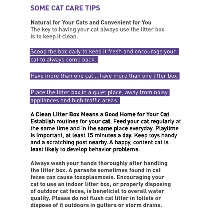 Dr. Elsey's Clean Tracks Clumping Clay Cat Litter