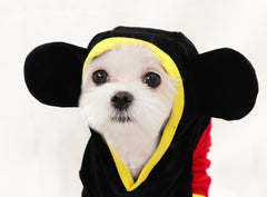 Sweethearts Mickey / Minnie Mouse Sweater Costume for Dogs
