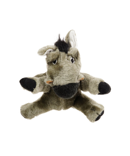 plush donkey dog toy with realistic animal sound 7""
