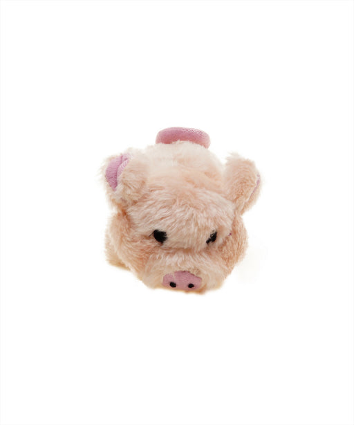 plush pig dog toy with realistic animal sound 6""