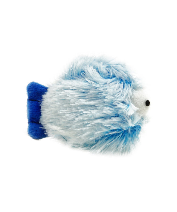 plush round soft fish cat toy 3""
