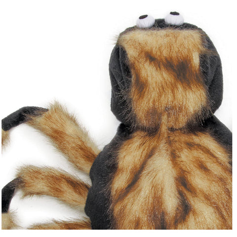 Fuzzy Tarantula Hooded Costume for Dogs