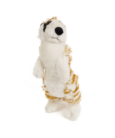 Plush Standing Meerkat Dog Toy 12''