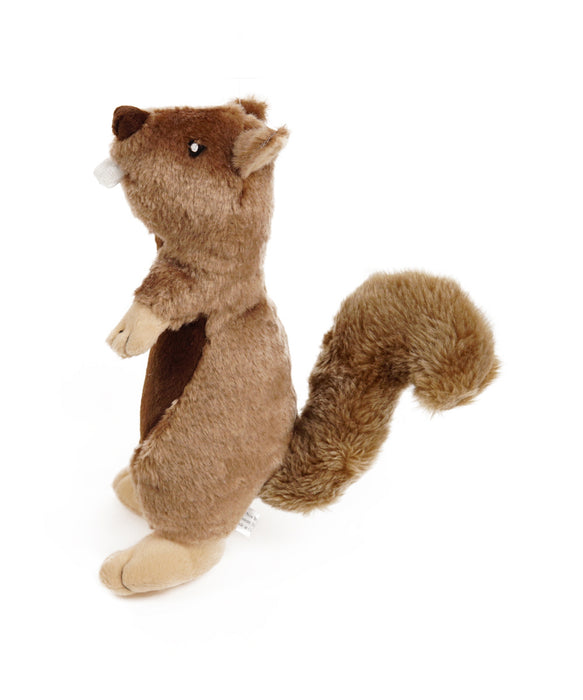 plush standing squirrel toy for dogs 12""