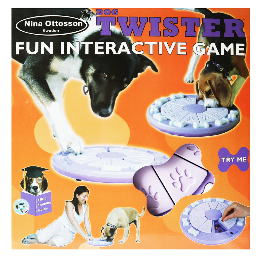 Nina Ottosson's Dog Twister Fun Interactive Game