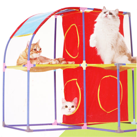 Kitty City Kitty Jungle Gym Interactive Cat Condo