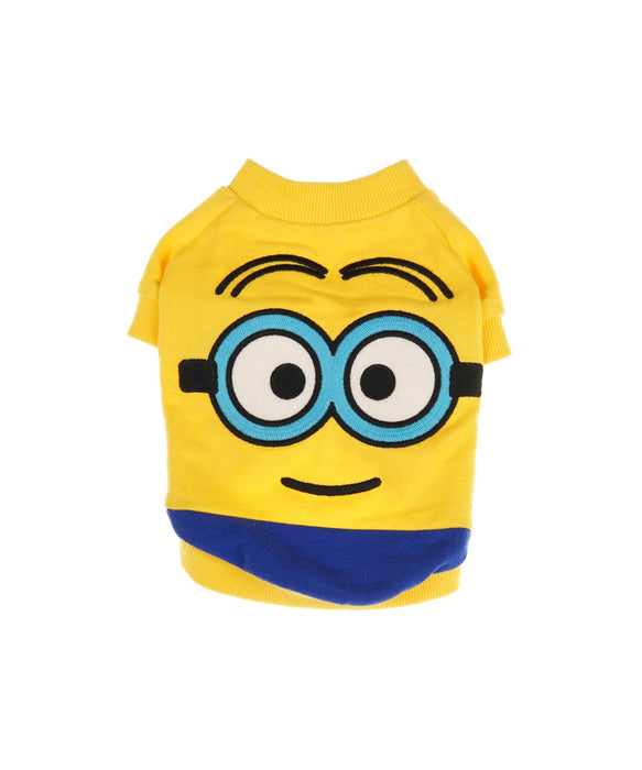 Minion Tee for Dogs in Yellow and Blue S
