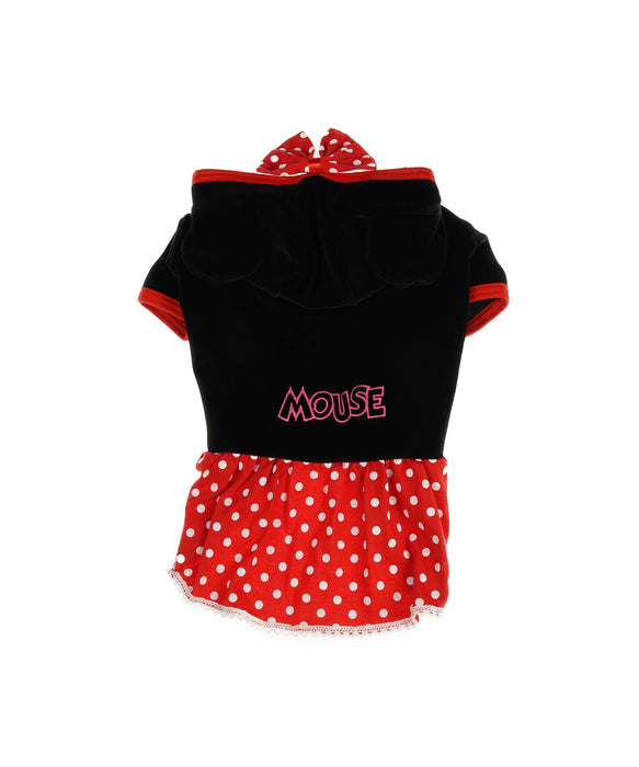 Mini Mouse Dress Fod Dogs in Red and Black XL