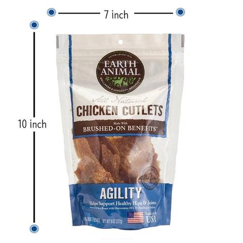 Earth Animal All Natural Chicken Cutlets - AGILITY