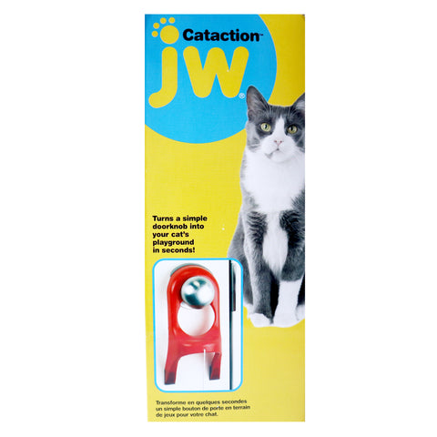Jw Pet Cataction Spring String for Door Handle Cat Toy