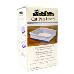 Meow Town Cat Pan Liners