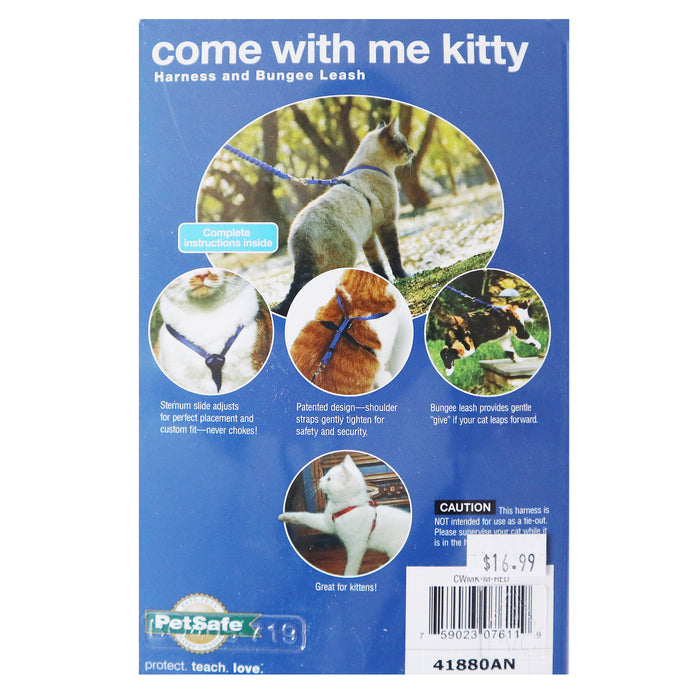 Come With Me Kitty Cat Harness for Adventurous Cats and Kittens