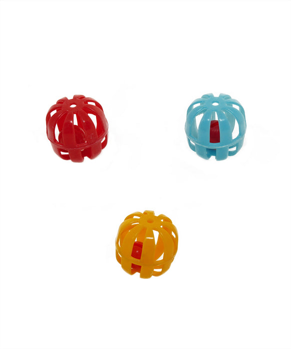 "netted rolling balls 1.5"" 3 pack"