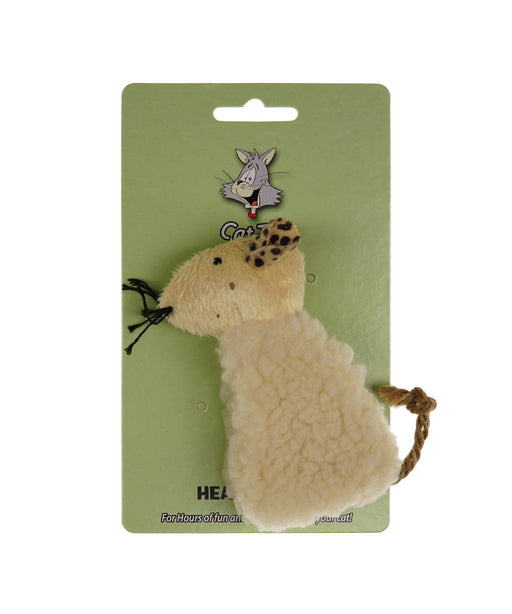 fleece catnip bag lamb catnip not provided 4.5""