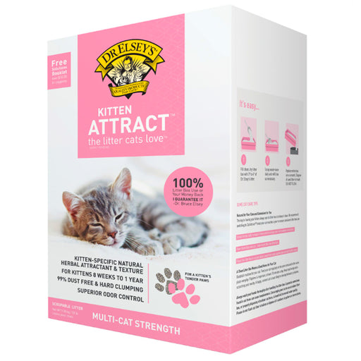 Dr. Elsey's Precious Cat Attract Unscented Clumping Clay Cat Litter, 20-lb box