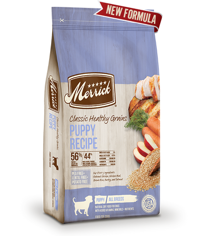 Merrick Classic Healthy Grains Puppy Recipe
