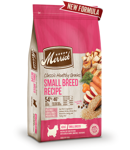 Merrick Classic Healthy Grains Small Breed Adult Recipe