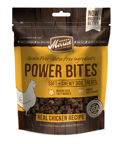 Merrick Power Bites - Real Chicken Recipe