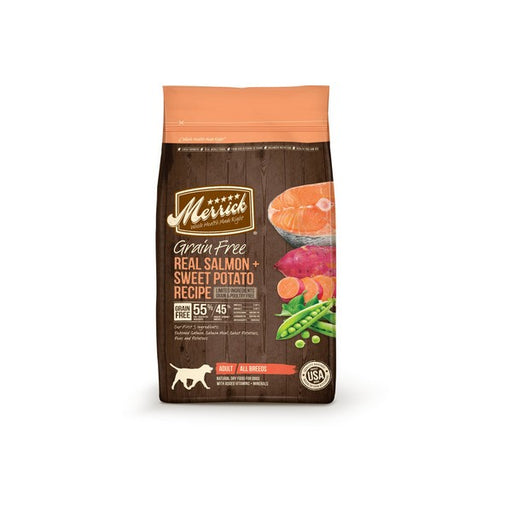 Merrick GrainFree Real Salmon  Sweet Potato Recipe Adult Dry Dog Food